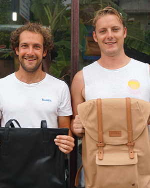 What can the power of a friendship between two ethically driven, like-minded people do? Duffle & Co; that's what.