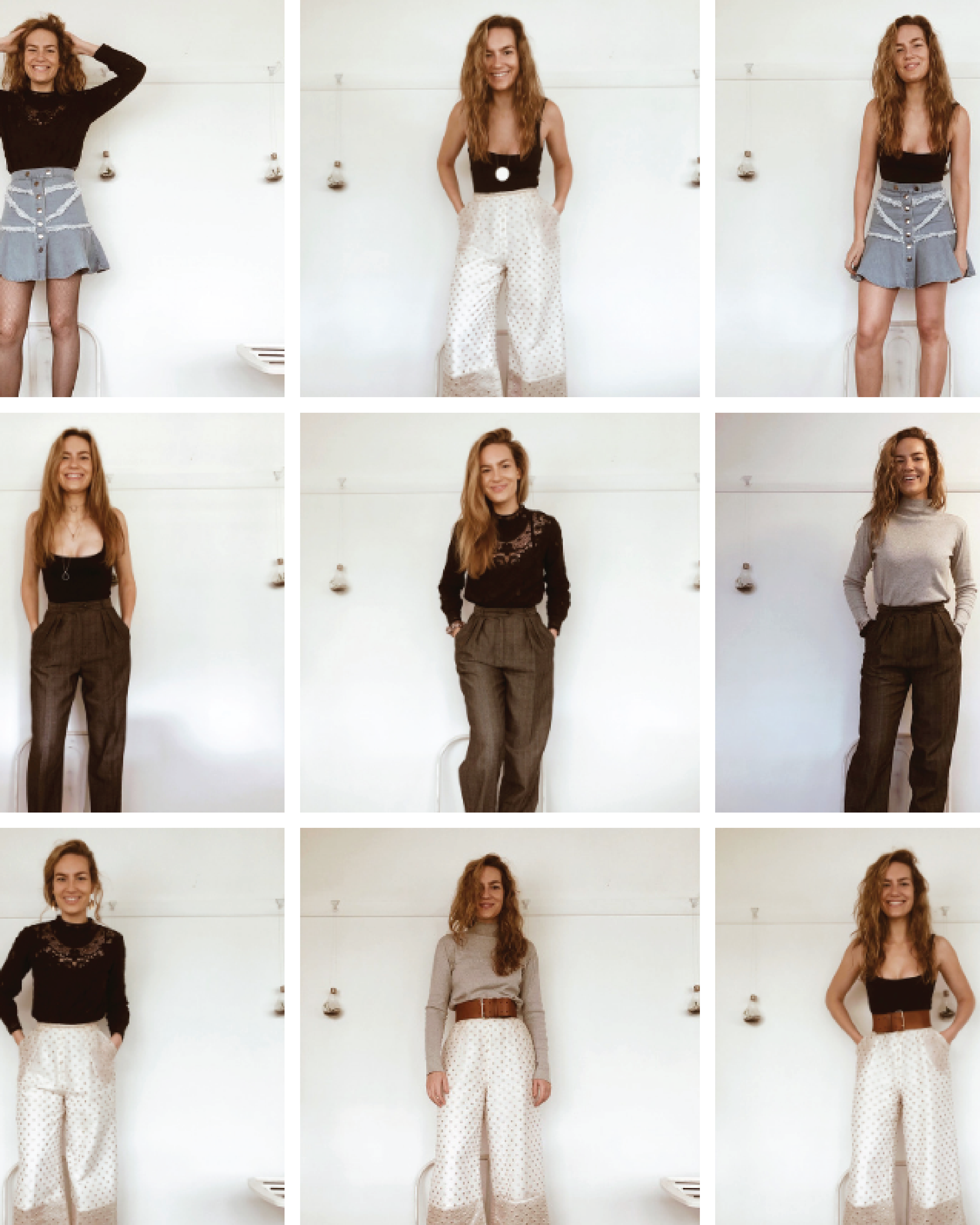 Could you wear six items for six weeks? Gabi did, and here are her lessons.