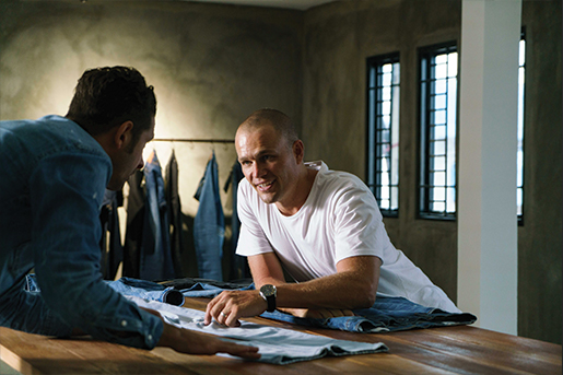 Meet the man who's changing the world one pair of jeans at a time: James Bartle.
