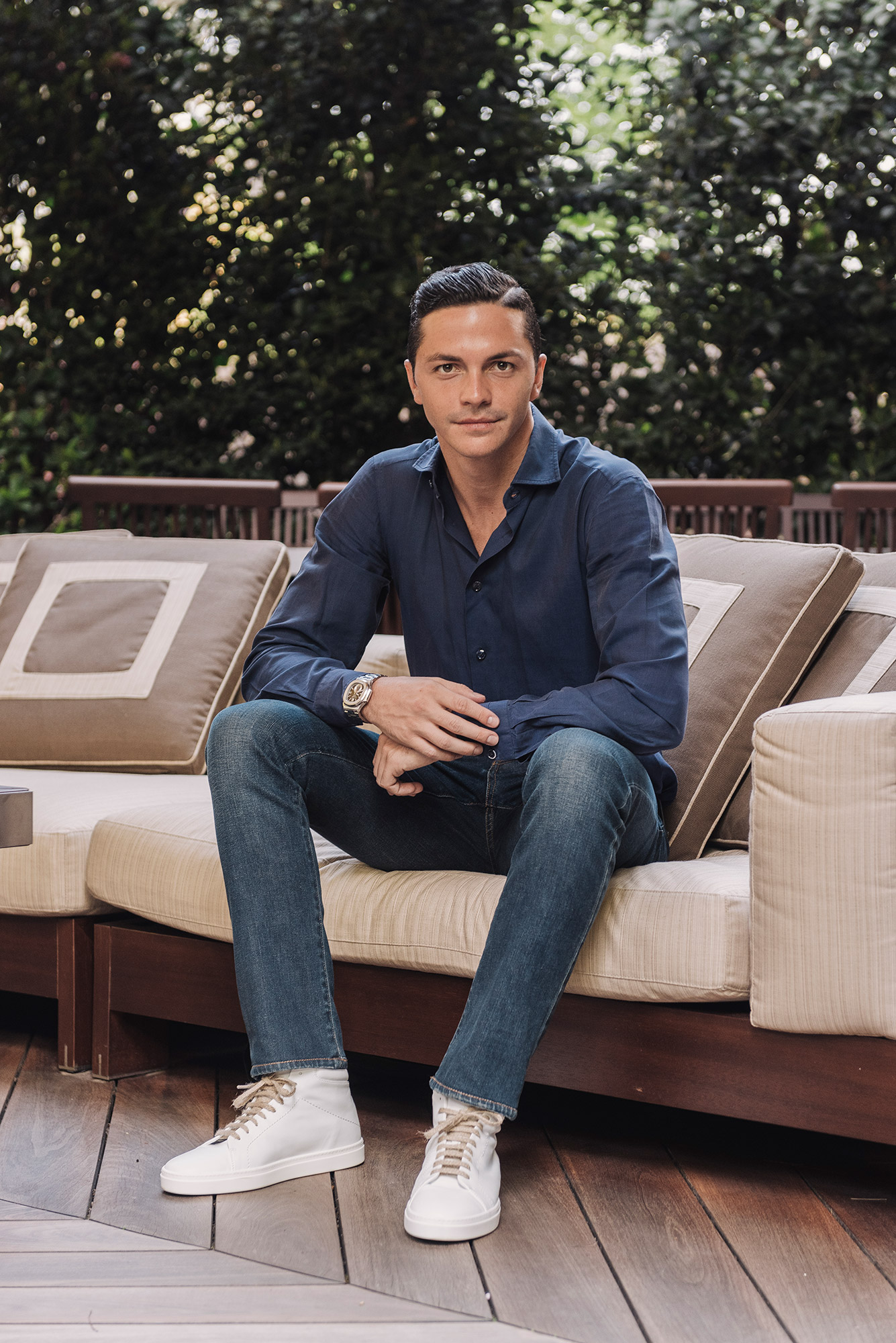 Umberto and his company Yatay are trying to bridge the gap between Italian designer and ethical.