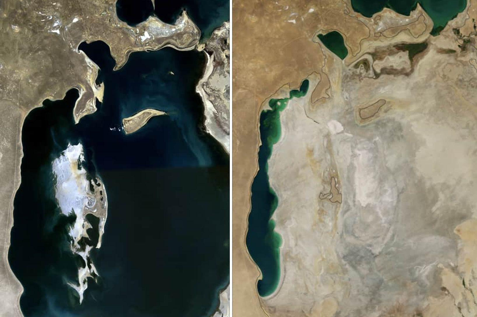 The fourth-largest freshwater lake, The Aral Sea, dried up, but what does this have to do with clothing?