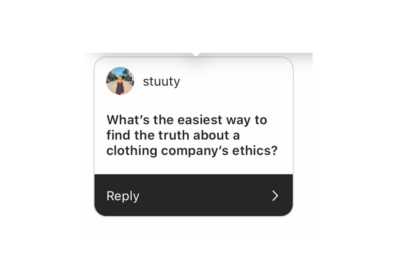 We make ethical fashion, easy.