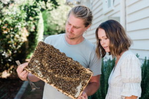 Beekeeping for life with Hayley and Roger Mason...