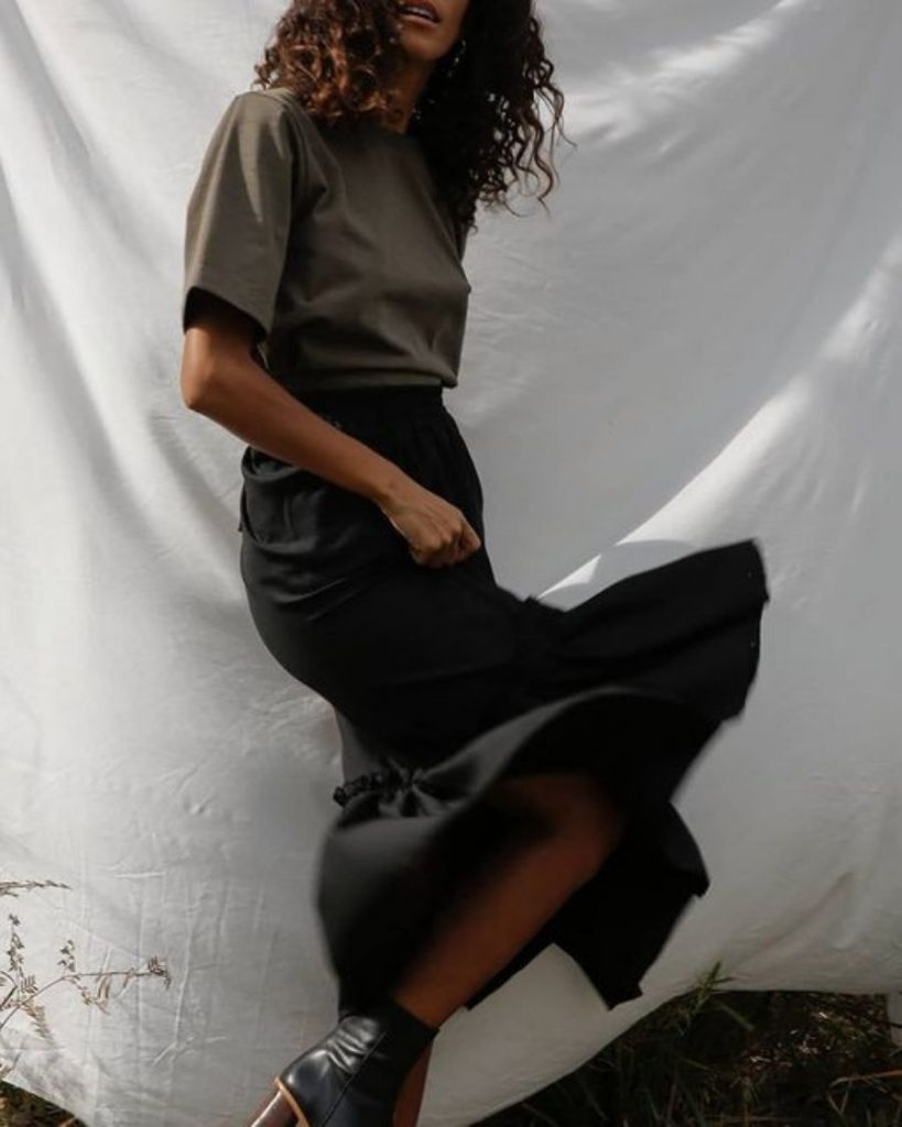 Sanct founder Danielle Abery-Miller on her passion for sustainable fashion.