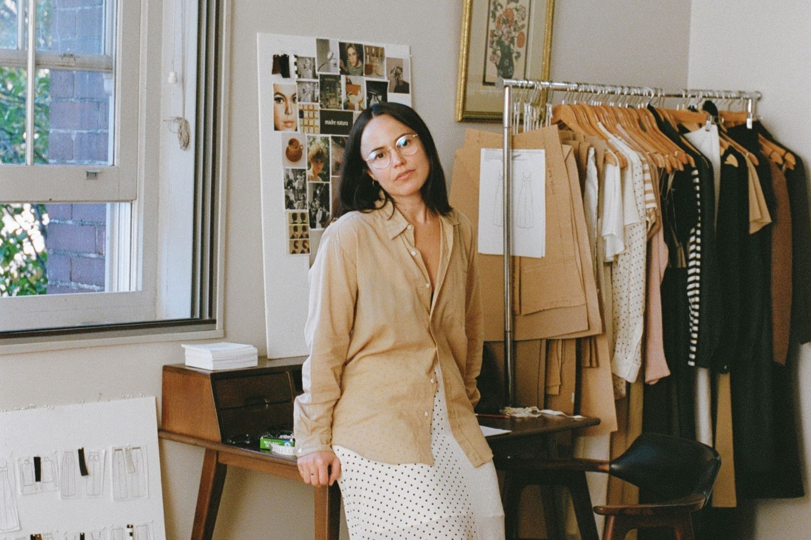 We chat with Jackie Galleghan, founder of (incredible) Australian ethical fashion label, madre natura.