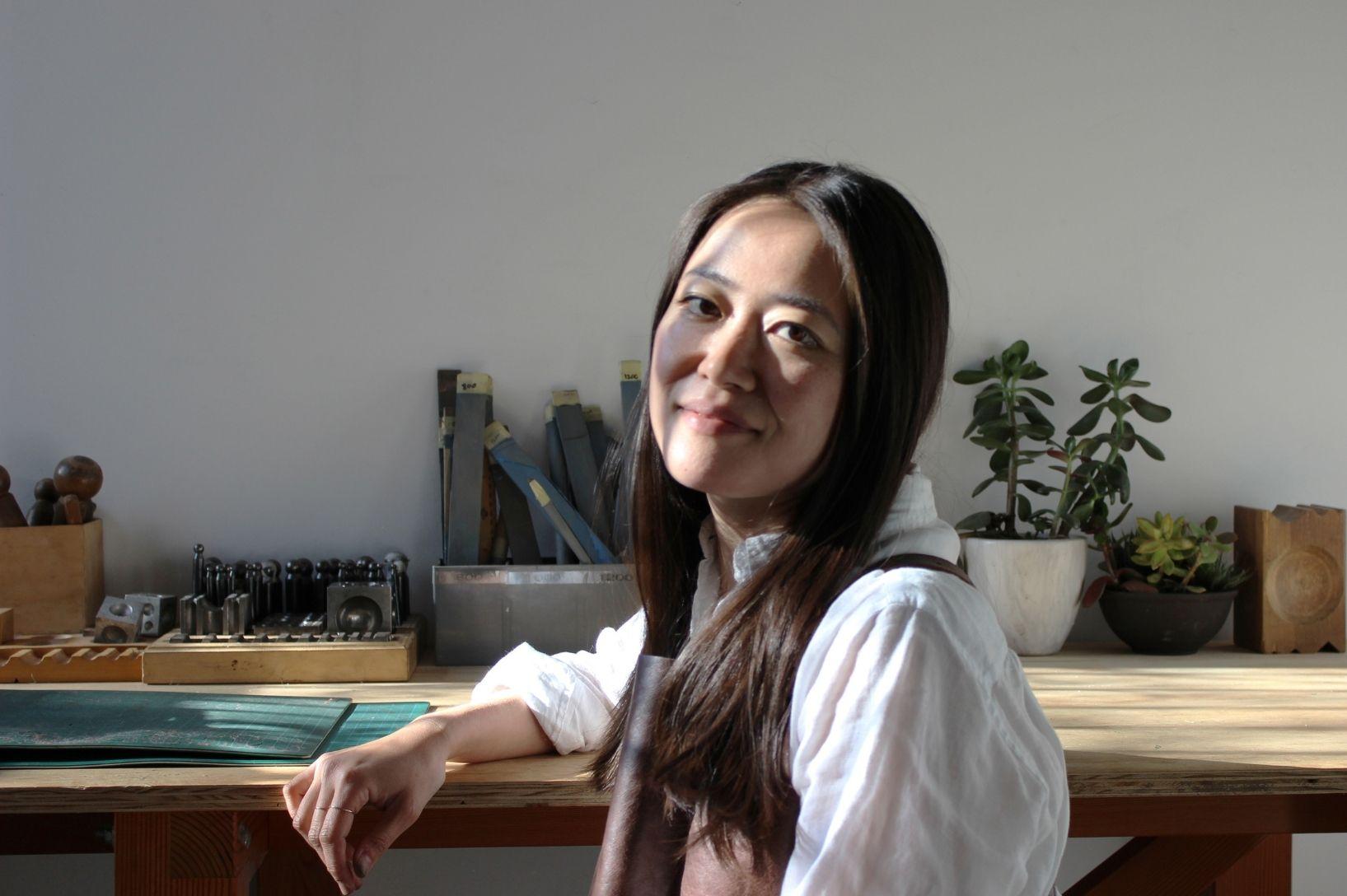 Momoko Hatano and her eponymous sustainable jewellery label.