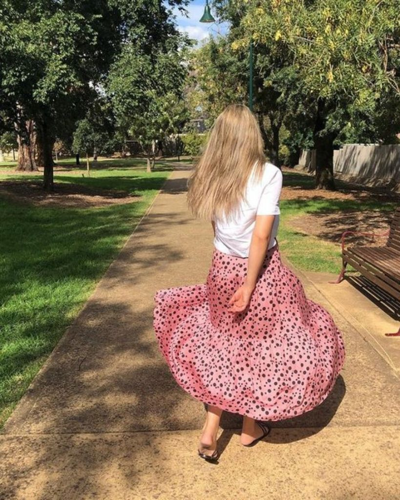 Ethically made women's skirts